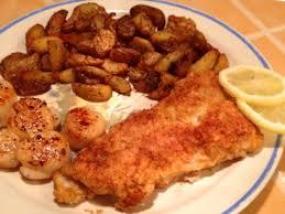 recette de cuisine poisson des filets de morue poêlés comme en gaspésie dans notre maison