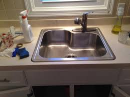 Single Bowl Kitchen Sink Top Mount Glacier Bay All In One Top Mount Stainless Steel 25 In 1