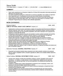 Financial Analyst Resume Template Sample It Resume Objectives Custom Dissertation Results