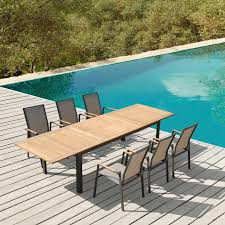 Teal Dining Table by Galiendo Outdoor Dining Table Best For Fun Outdoor Parties
