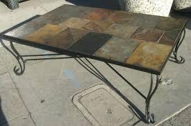 slate wood coffee table slate coffee table set 2 slate insert lift top coffee table set
