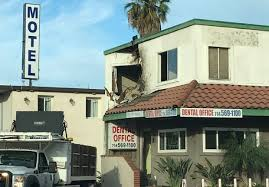 car flies into 2nd floor of santa ana building u2013 orange county