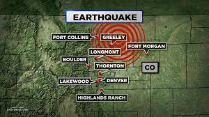 Map Of Greeley Colorado by Another Weld County Quake Prompts Closure Of Injection Well Cbs