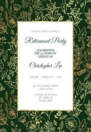 retirement invitations free retirement farewell party invitation templates greetings