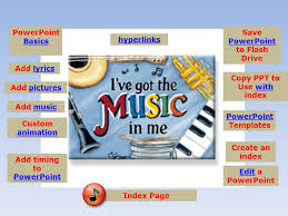 powerpoint basics basics add lyrics add picturespictures