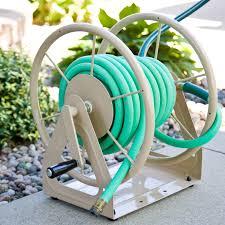 whitehall aluminum perrault round hose holder hayneedle