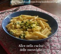 giallo zafferano cucina vegetariana pasta alla carbonara di zucchine ricetta primo piatto vegetariano