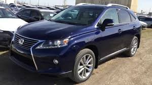 used lexus rx 350 new york new blue on parchment 2015 lexus rx 350 awd technology package