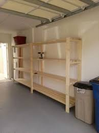 Woodworking Plans Garage Shelves by Best 25 Garage Shelving Ideas On Pinterest Building Garage
