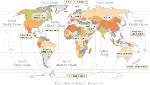 world map in world atlas maps geography flags facts of every country in