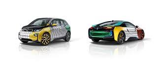Bmw I8 Design - garage italia customs creates memphis design inspired bmw i3 and