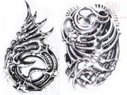 tribal biomechanical designs biomechanical tribal design by