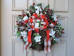 doors decorating christmas wreaths with deco mesh amazing idolza