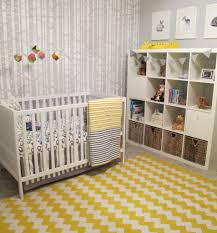 Gender Neutral Nursery Bedding Sets by Baby Nursery Divine Grey And Yellow Wood Land Baby Nursery