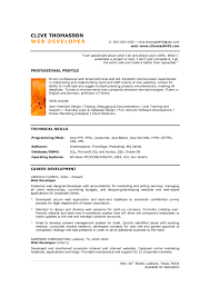 Core Java Developer Resume Sample by Junior Web Developer Resume Resume Example
