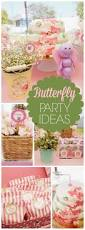 Birthday Decoration Ideas For Kids At Home Best 25 Butterfly Birthday Party Ideas On Pinterest Butterfly