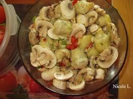 cuisiner coeur d artichaut recette de artichauts forestiers recettes diététiques