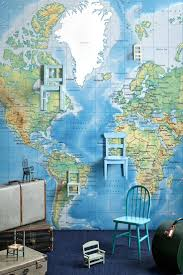 10 best maps wall murals and canvas images on pinterest world