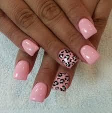 pink cheetah nails s for nails