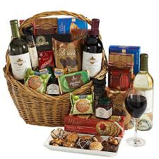 wine baskets wine and cheese gift baskets corporate gift ideas executive gift