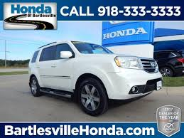 honda pilot 2013 towing capacity used 2013 honda pilot for sale bartlesville ok