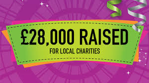 28 000 raised for local charities