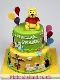 winnie the pooh cakes london patisserie winnie the pooh 1st birthday cake london