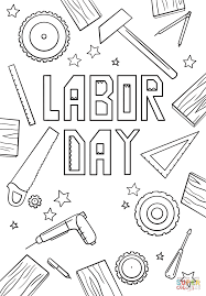 labor day coloring pages labor day coloring pages to download and