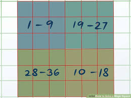 3 ways to solve a magic square wikihow