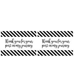 thank you card size thank you cards or poster thank you for your part in my journey
