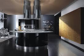 black kitchen design picture on stunning home interior design and