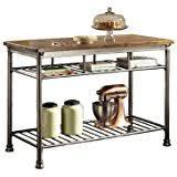 metal kitchen islands amazon com metal kitchen islands carts kitchen dining