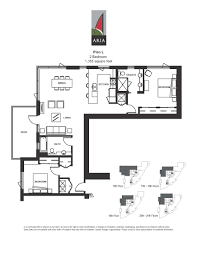 2 Bedroom Plans by Aria 2 Bedroom U2013 Plan L