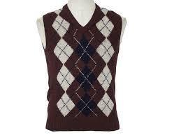 brassrail eighties vintage sweater 80s brassrail mens maroon