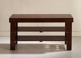 amazon com beautiful new wooden shoe bench by furnituremaxx