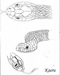 serpent mes dessins