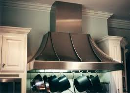 stainless steel hood fan stainless steel standing seam hood wish this was in hammered copper