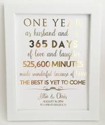 one year anniversary gifts for husband 1st anniversary gift anniversary gift for husband or