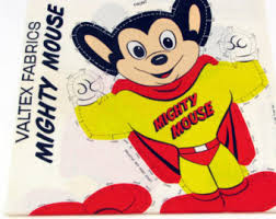 mighty mouse etsy