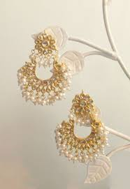 earrings gold loop gold earrings