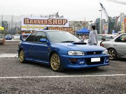 subaru wrx custom blue 3dtuning of subaru impreza wrx sti 22b coupe 1999 3dtuning com