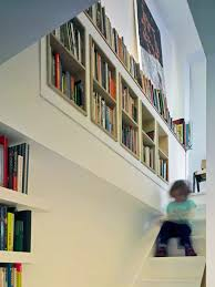 if you run out of space add bookshelves on the stairs instead of