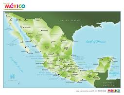 Mexico States Map Mexico Colonial Treasures Cities Mexpeditions