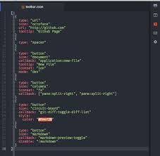 format file atom github cakecatz flex toolbar easily customizable toolbar for atom