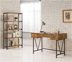 wood and metal writing desk ct801541 barritt antique wood metal writing desk sleep collection