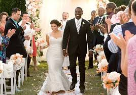 coming to america wedding dress america ferrera wears lhuillier wedding dress