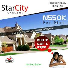 Land Plots For Sale by Affordable Land Plots For Sale At Star City Gardens Ibeju Lekki