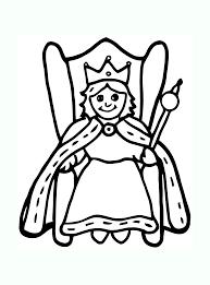 Roi reine 3  Coloriage de Rois et Reines  Coloriages pour enfants