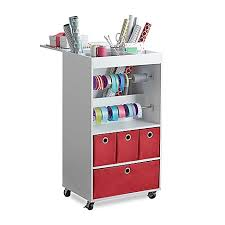 gift wrap cart real simple gift wrap cart bed bath beyond