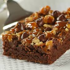 chocolate turtle brownies nestlé very best baking